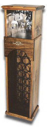 Click for larger version of wooden  wine racks